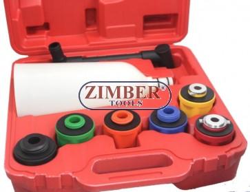 Set palnie si adaptoare speciale pentru schimb ulei - ZT-04A5088 - SMANN TOOLS.