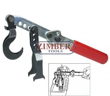 Presa pentru arcuri de supape, ZR-36VSC10 - ZIMBER TOOLS