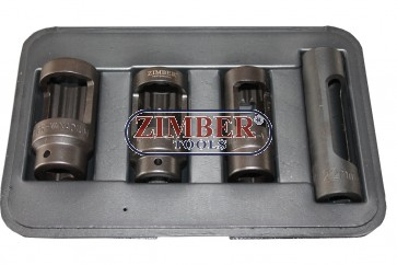 Set de tubulare injectoare diesel 4-Buc.- ZIMBER