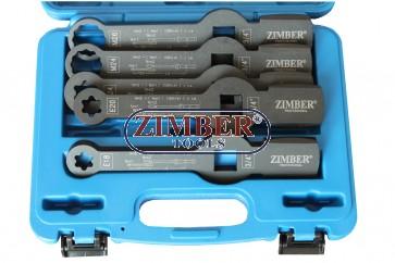 Trusa Cheie inelara impact pentru etrier camioane MAN, DAF, SAF- M24, M26, E18,E20,E24-ZR-36TBSWS-ZIMBER- TOOLS.