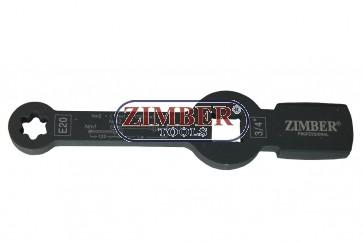 Cheie inelara Torx E20 impact pentru etrier camioane MAN TGL i TGM - ZR-36TSWE20 - ZIMBER TOOLS