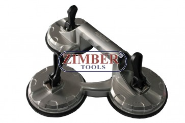 Ventuza tripla pentru montat parbrize 100Kgs - ZR-36TSC - ZIMBER TOOLS