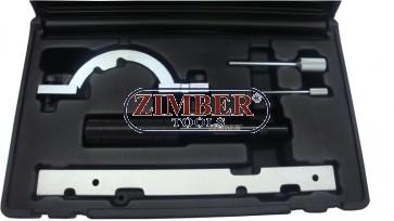 Trusa de Fixare Distributie Opel Agila-Corsa in 3 Cilindrii Cod Motor: X10XE si X12XE -  ZIMBER TOOLS-ZR-36ETTS51