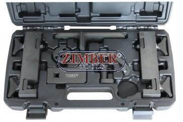Trusa de fixare distributie V8 5.0 Jaguar XK8-XKR XF XJ Land Rover PETROL-  ZR-36ETTS184 - ZIMBER TOOLS