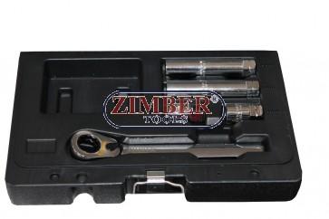 Tusa pentru aerisit sistem de franare 5 piese - ZR-01SSHC05 - ZIMBER TOOLS.