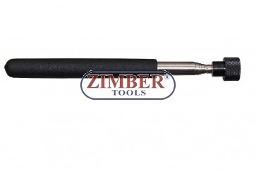 Dispozitiv telescopic cu magnet  67cm 1kg, ZR-30TMPUT18F- ZIMBER TOOLS