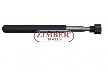 Dispozitiv telescopic cu magnet  67cm 4kg, ZR-30TMPUT18D - ZIMBER TOOLS