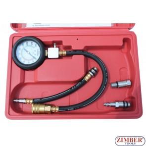 Compresiometru de benzina  ZT-04153 - ZIMBER-TOOLS
