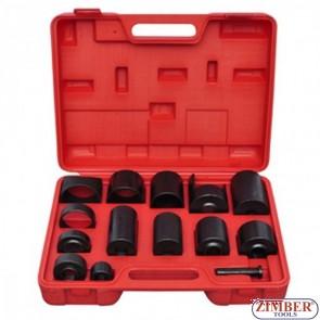 Trusa universala pentru extras si montat bucse,privoți si rulmenti,  ZT-04010 - SMANN TOOLS.