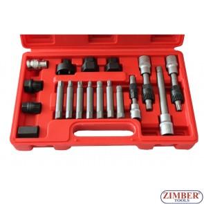 Trusă montare alternator 18 Buc, ZT-04609 - SMANN TOOLS