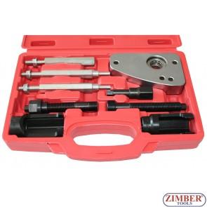 Trusă pentru extras cap injectoare PSA 2.0 HDI Peugeot, Citroen и PSA 2.0 JTD Fiat, Lancia- SMANN TOOLS