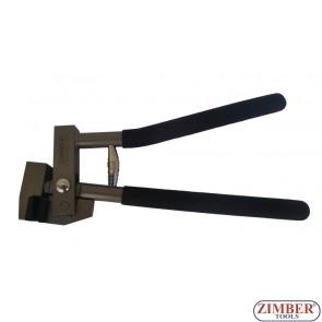 Cleste de faltuit pentru lucrari de tinichigerie pentru foi de tabla pana la 1mm grosime - ZR-36FT- ZIMBER TOOLS.