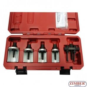 Trusa extractor brat stergator 5-piese, ZL-8105 - ZIMBER-TOOLS.