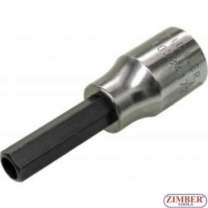 """Cheie Demontat Injectoare  Bosch 10-mm  cu HEXAGON cu GAURA in INTERIOR"""", ZR-15HBS1210 - ZIMBER-TOOLS."""