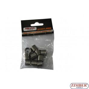 Insertii pentru reparatie filet M10 X 1.5 X 13.5mm - 10.buc - ZT-04J1067 - SMANN TOOLS