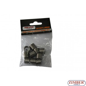 Insertii pentru reparatie filet M12 X 1.5 X 16.5mm, 10-buc -  ZT-04J1175 - SMANN TOOLS