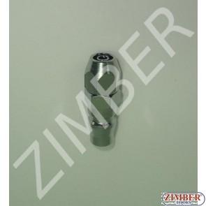 Cuplaj rapid pentru furtun 6.5X10mm ZDC-2 - ZIMBER