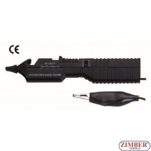 Tester pentru verificare voltaj baterie - ZR-38BCVT - ZIMBER TOOLS.