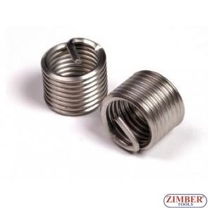 INSERTIE SPIRALATA REPARAT FILETE -  M14 x 1,25 x 16,4mm -1buc. - ZIMBER TOOLS