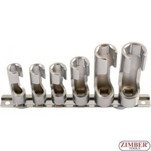 Set de chei tubulare cu fereastra laterala 6 buc, ZR-36DWNSS06 - ZIMBER TOOLS