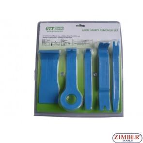 Set de scule din plastic pentru tapiterii