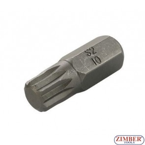 Bit Spline M12 x 30mm - ZR-15B1030M12 - ZIMBER TOOLS