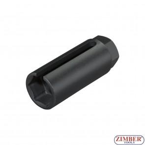 """Tubulara Sonda Lambda 22.mm 3/8"""" 80.mm - ZIMBER TOOLS"""
