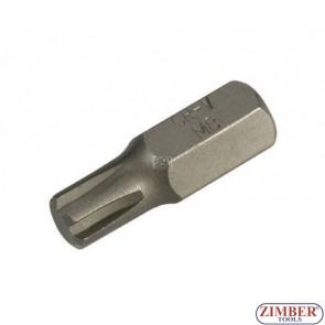 Bit Ribe - M12 x 30mm - ZR-15B1030R12 - ZIMBER-TOOLS