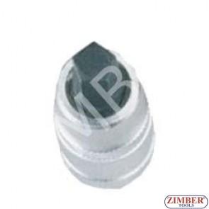"Cap bit pentagonal 10mm  1/2"" - ZIMBER"