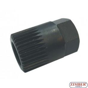 Cheie Alternator Н17х33Тх30 mm VW. AUDI - ZR-36AW1733 - ZIMBER-TOOLS
