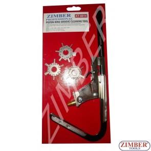Aparat pentru curatit canalele segmentilor de la pistoane motor, ZL-6014 - ZIMBER