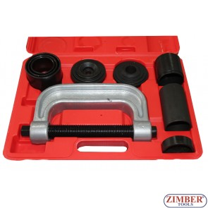 Presa universala pentru extras si montat pivoti , rotule, bucse suspensie, cruci cardanice, rulmenti - ZК-250