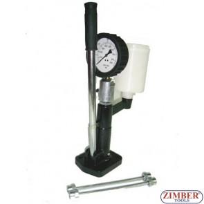Tester pentru injectoare diesel 0-600 bar - ZIMBER  TOOLS.