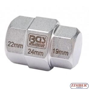 Dispozitiv pentru ax motociclete 24mm,22mm,19mm - BGS. technic Germany