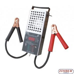 Tester Baterie-Acumlator cu Ecran DIGITAL 12.V 250Ah / 1,000 CCA  - BGS