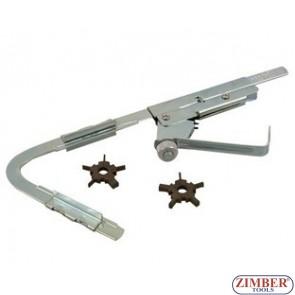 Aparat pentru curatit canalele segmentilor de la pistoane motor, ZR-36PRGC - ZIMBER-TOOLS