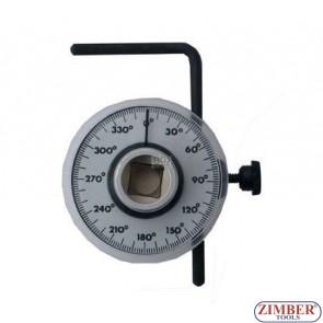 Disc cu gradatie pentru masurare unghi de strangere, 0-360- 3084- BGS technic