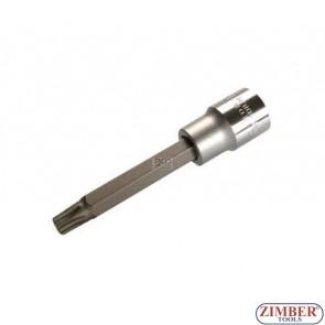 "Capete profil torx lung  1/2"", Т55х100mm - BGS"