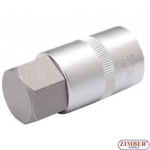 "Capete chei profil hexagonal  22x55 mm  1/2""- BGS"