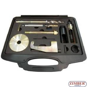 Trusa pentru extras cap injectoare Mercedes CDI  OM 611, 612, 613 - ZIMBER.