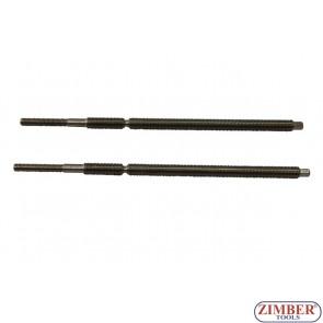 Tije pentru extractie bujii rupte- 2 bucăți - ZR-41PGPTS1913, ZIMBER TOOLS