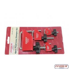 Set dispozitive obturare furtun de la 10mm la 45mm., ZR-36FLCS04 - ZIMBER TOOLS.