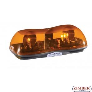 Girofar Magnetic - Rampa luminoasa - 12V - 42-cm.