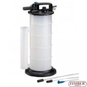 Pompa - Extractor  de ulei pneumatic, ZR-36PFE09 - ZIMBER-TOOLS.