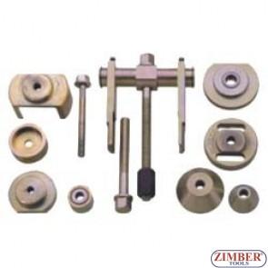 Dispozitiv de extragere şi montare bucşi braţ inferior   W124, 201, 202.- MERCEDES - ZIMBER