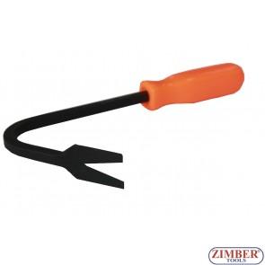 Scula pentru demontat cleme din plastic, ZL-6863 - ZIMBER