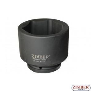 "Tubulare de IMPACT 1"" Dr. 85-mm 6 pereti - ZR-08AIS785M - ZIMBER TOOLS."