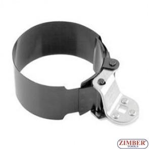 Cheie pentru filtru de ulei pentru microbuze si camioane, 115-mm la 135-mm.  ZR-36OFWSD115 - ZIMBER TOOLS