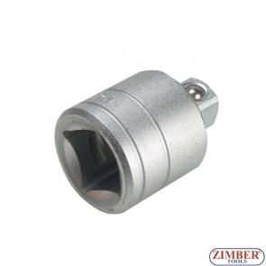 """Adaptor 3/8""""(F) x 1/4""""(M) - ZIMBER (ZR-04A381401)"""