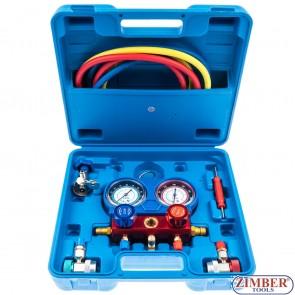 Trusa pentru service instalatii de aer conditionat auto (8425) - BGS technic.
